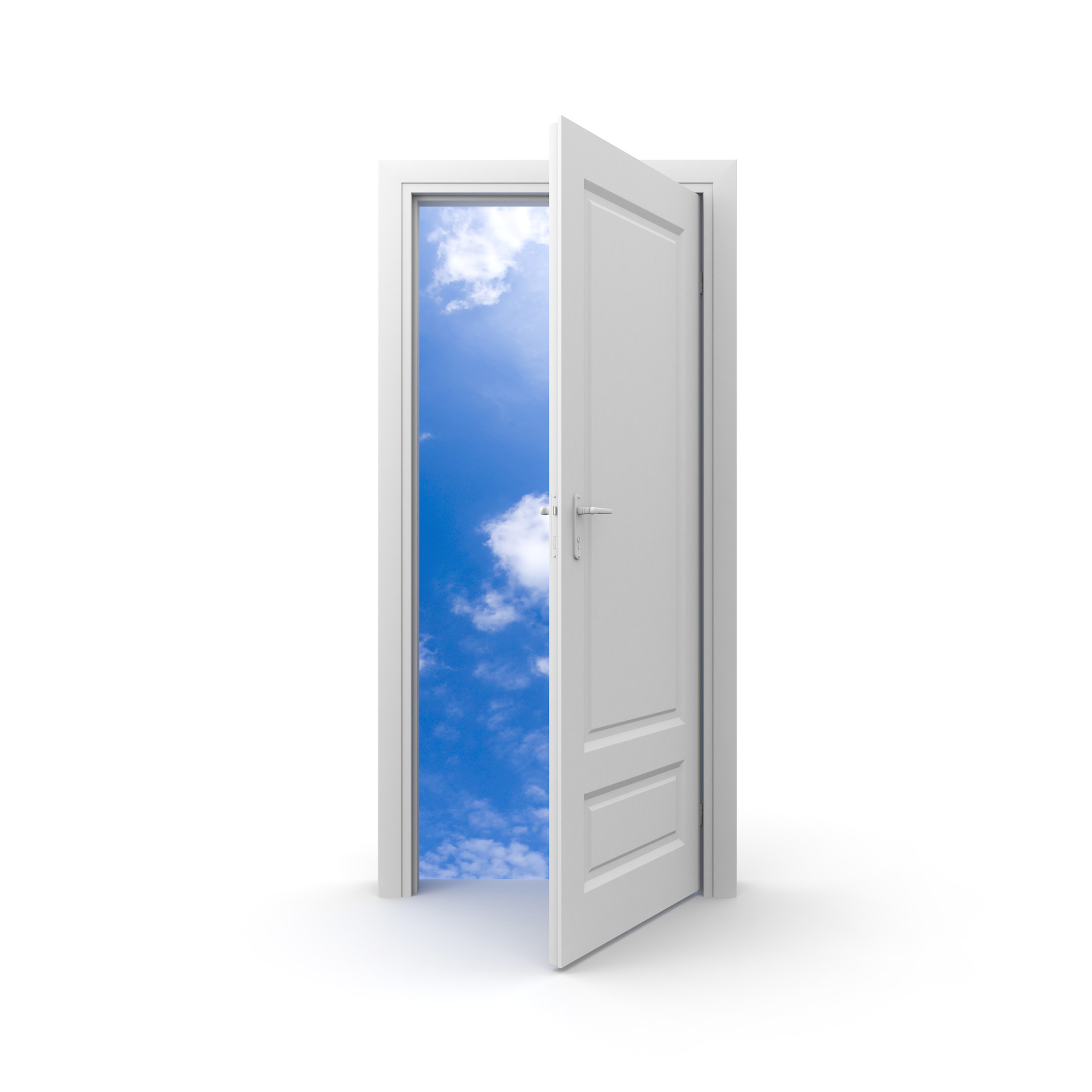 Conceptual image isolated on white  sc 1 th 225 & Blog: Open the Social Door | Effective Perspectives